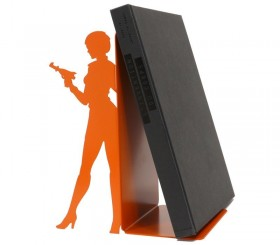 "Large book ends ""Sci-fi woman"""