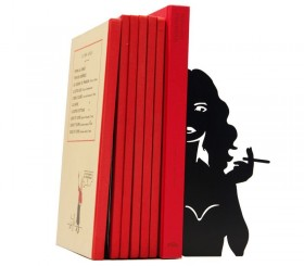 "Grand presse-livres ""Cigarette"""